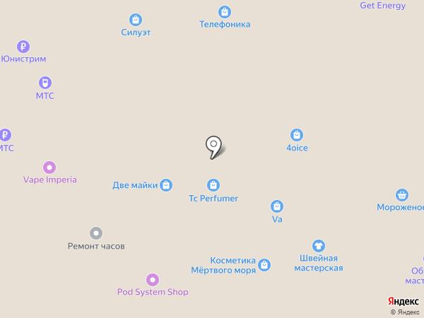 Сибирские сети на карте Барнаула