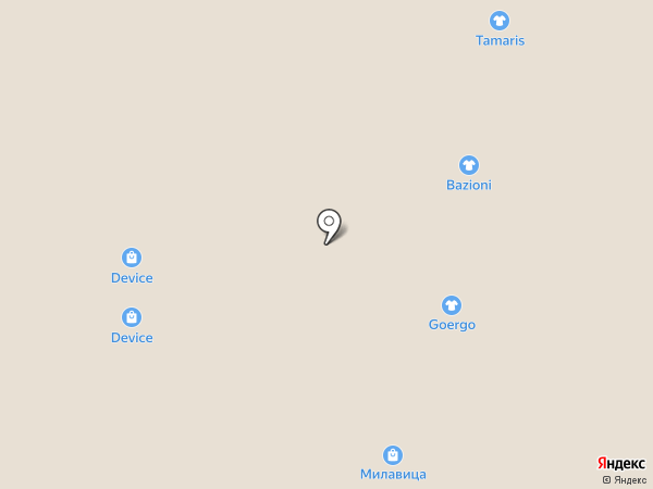 Milana на карте Барнаула