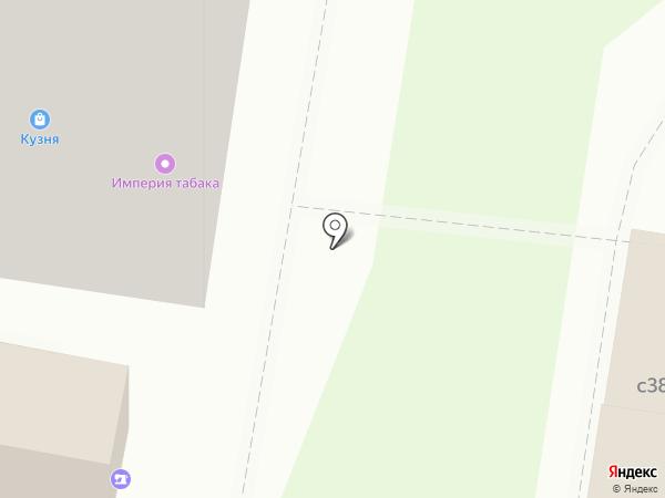 Сеть магазинов по продаже кур-гриль на карте Барнаула
