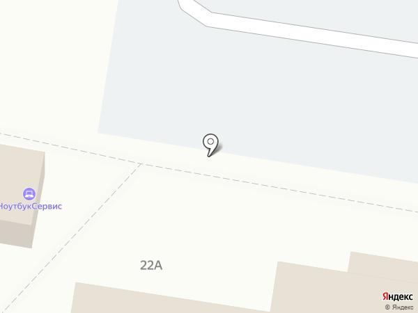 Блинный бар на карте Барнаула