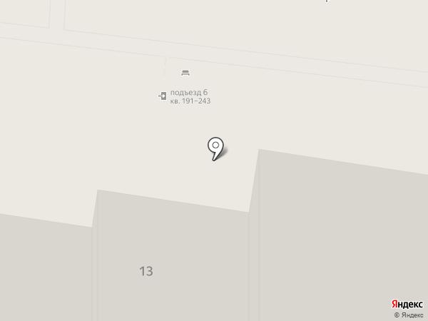Деревенька на карте Барнаула