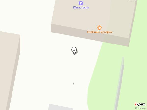 Хлебный Хуторок на карте Барнаула