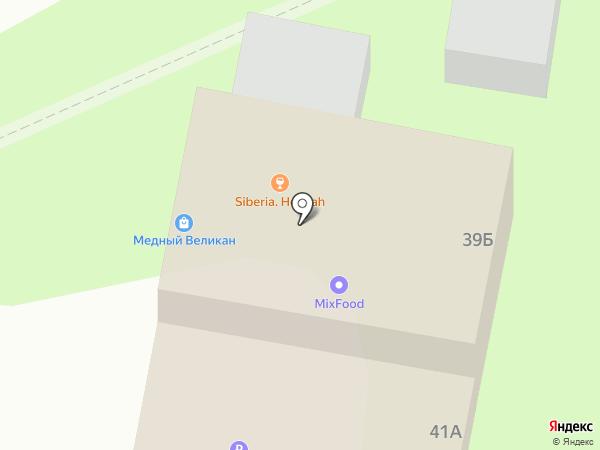 Пивушка на карте Барнаула