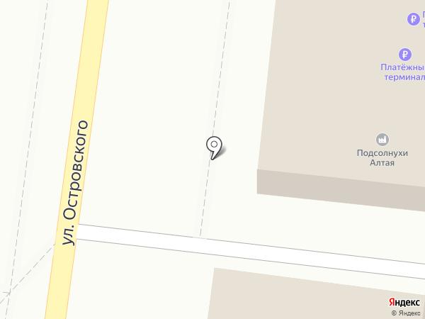 Лит-ра на карте Барнаула
