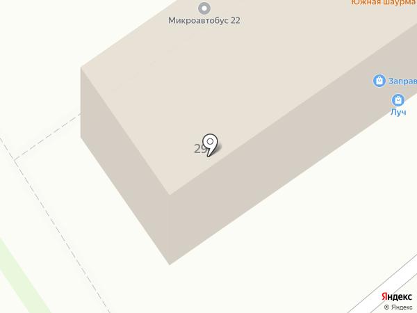 GALEREA на карте Барнаула