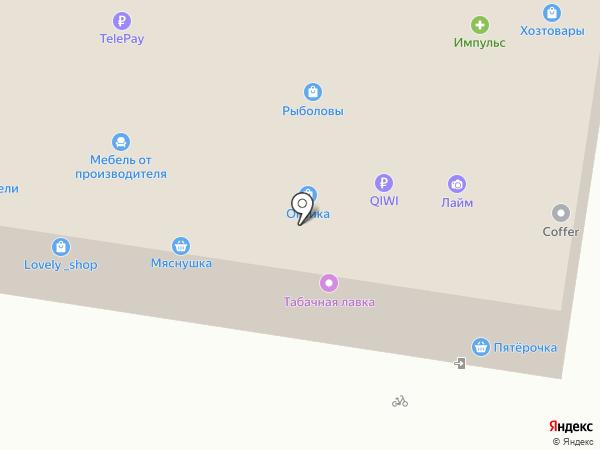 Жигулев на карте Барнаула