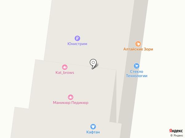 Охрана на карте Барнаула