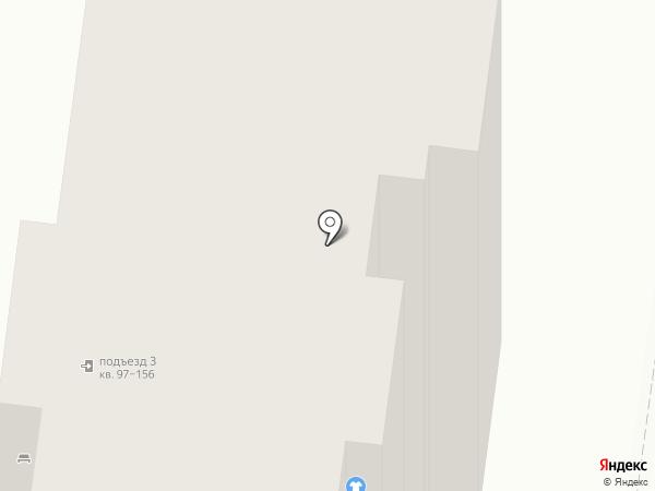 Агентство Голубевой на карте Барнаула
