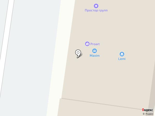 АлтайТоннаж на карте Барнаула