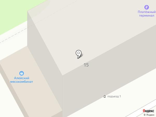 Светлана на карте Барнаула
