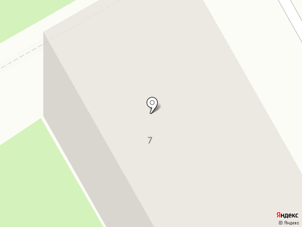 Южный на карте Барнаула