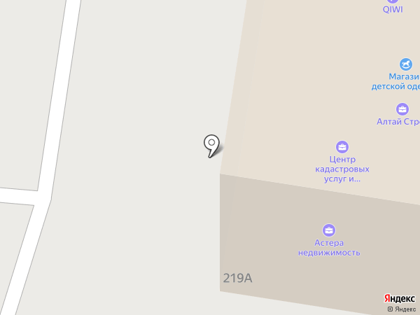 Авеню-Риэлт на карте Барнаула