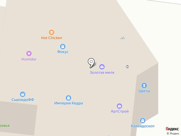 Индустриальный на карте Барнаула