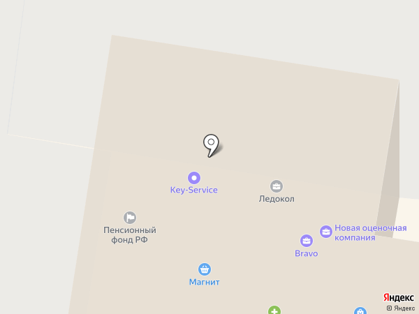 Взлетная на карте Барнаула