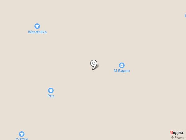 Магазин головных уборов на карте Барнаула