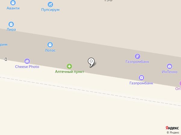 Платежный терминал, Газпромбанк на карте Барнаула