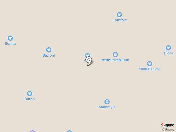 1000 пальто на карте Барнаула
