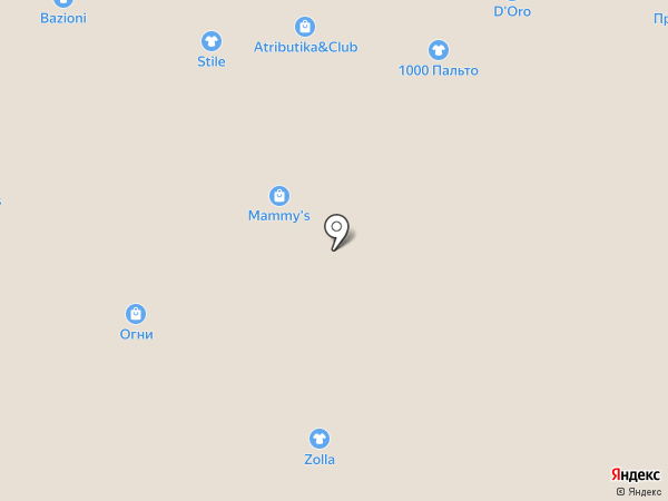 Кавалер на карте Барнаула