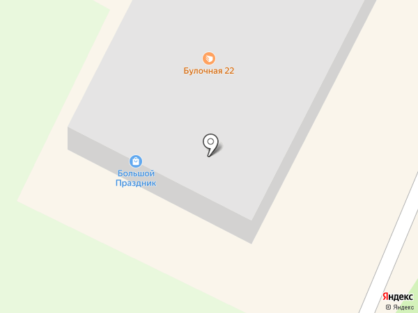 КОРТО на карте Барнаула