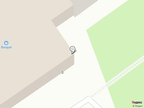 Магазин печатной продукции на карте Барнаула