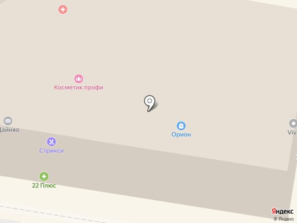 ОРИОН-СЕРВИС на карте Барнаула