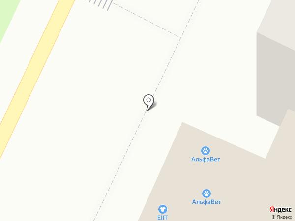 АльфаВет на карте Барнаула
