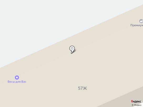 ТИСС на карте Барнаула