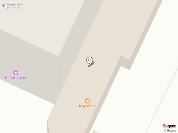 В гостях у мамы на карте Барнаула