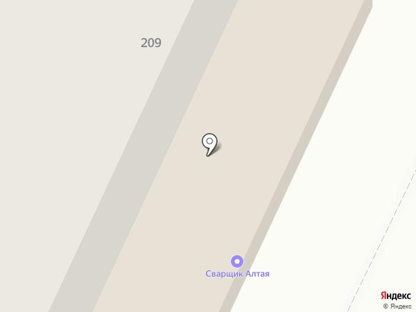 Магазин автозапчастей для ВАЗ на карте Барнаула