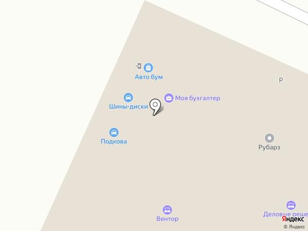 Вентор на карте Барнаула