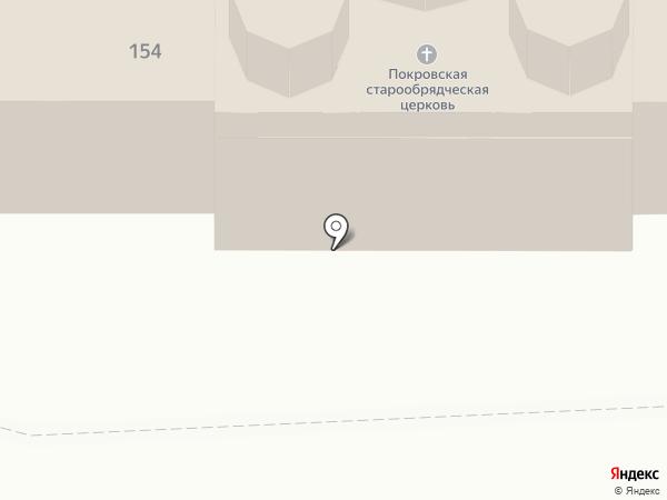 Храм Покрова Пресвятой Богородицы Русской Православной старообрядческой Церкви на карте Барнаула