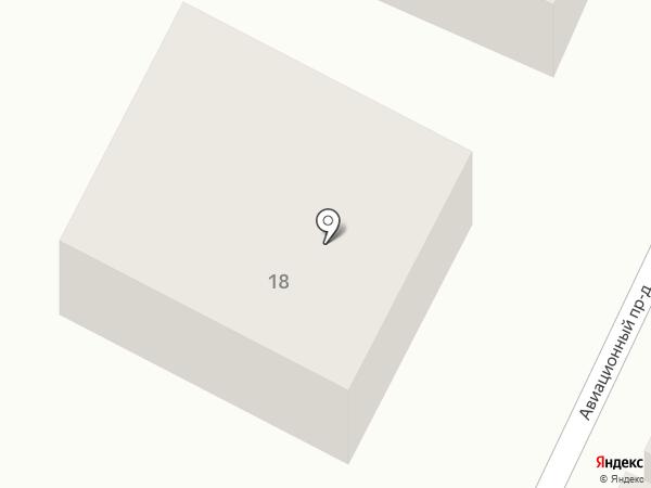 Гостиный дом на карте Барнаула