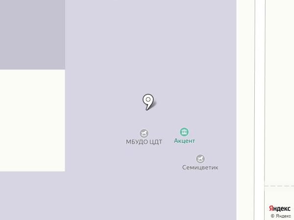 АНТЕЙ-ПОТОК на карте Барнаула
