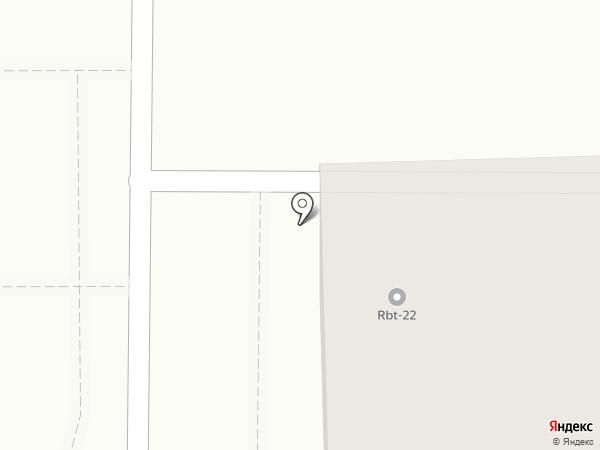 Каравай на карте Барнаула