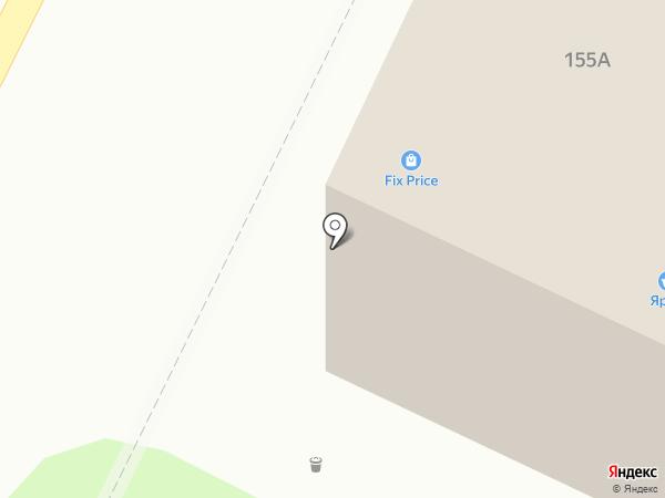 Автоэксперт на карте Барнаула
