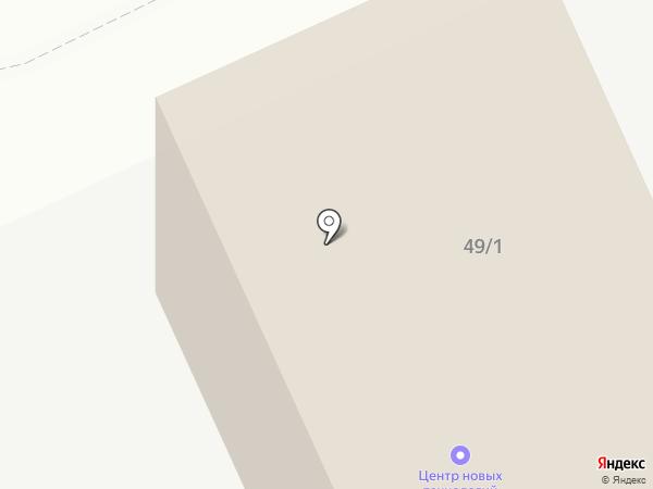 АДМ-Сервис на карте Барнаула