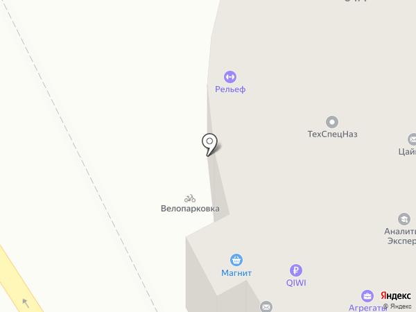 Априори на карте Барнаула