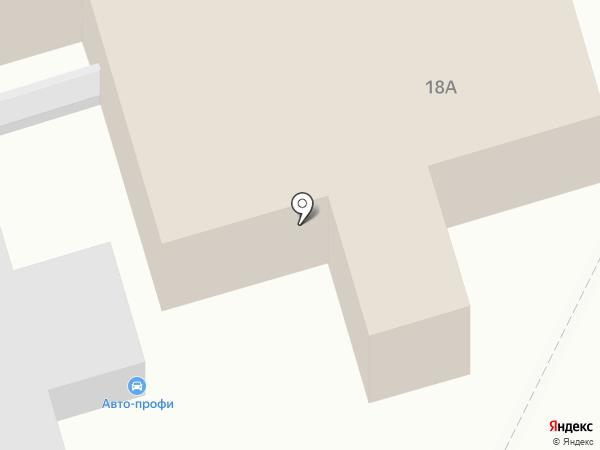 Единая служба саун и гостиниц на карте Барнаула