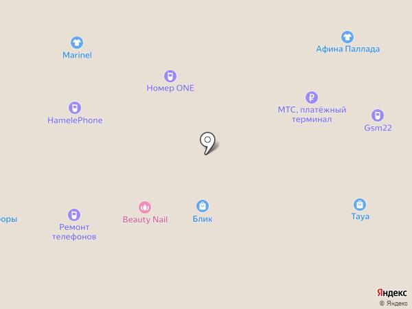 МТС, ПАО на карте Барнаула