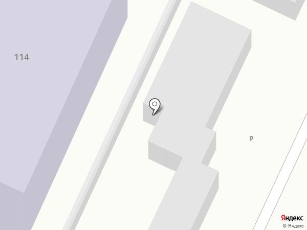 Детский сад №40 на карте Барнаула