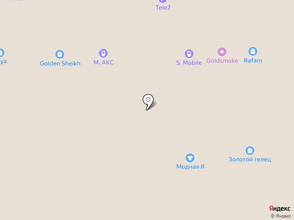 Золотой Век на карте Барнаула