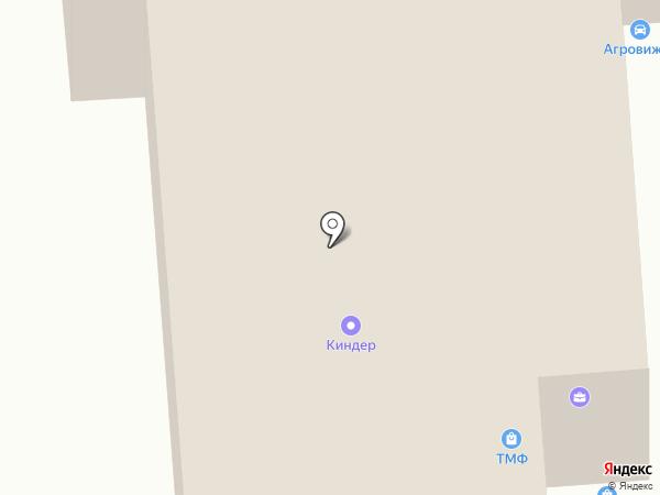 Гудрон на карте Барнаула