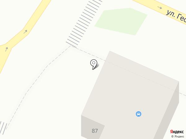 Абсолют+ на карте Барнаула