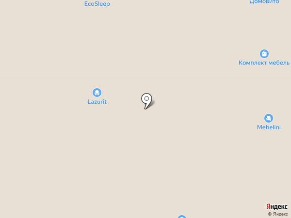 КМК на карте Барнаула