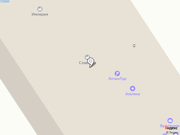 Соратник на карте Барнаула