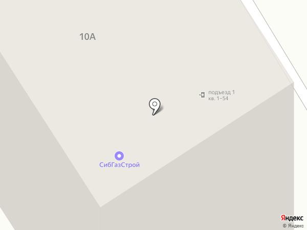 СибГазСтрой на карте Барнаула