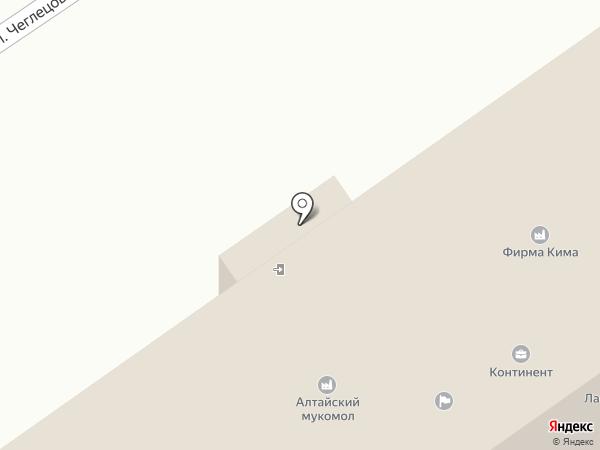 РОСС-СЕЙФ на карте Барнаула