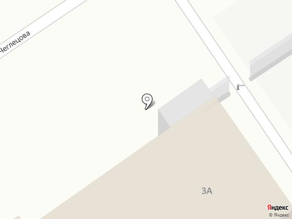Metro на карте Барнаула