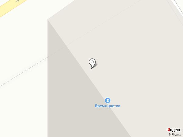Барвиха на карте Барнаула