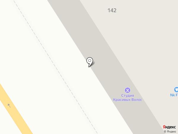 А & П на карте Барнаула